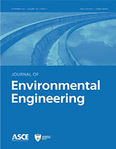 Journal of Environmental Engineering cover